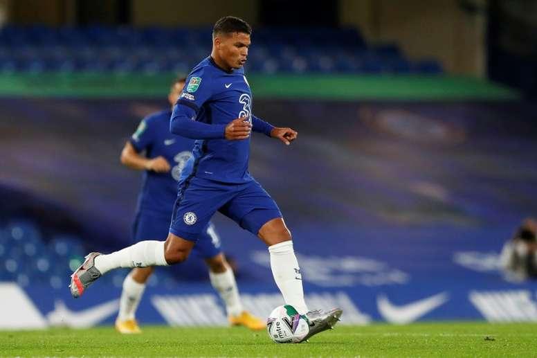 Tite valide le choix de Thiago Silva d'avoir rejoint Chelsea. AFP