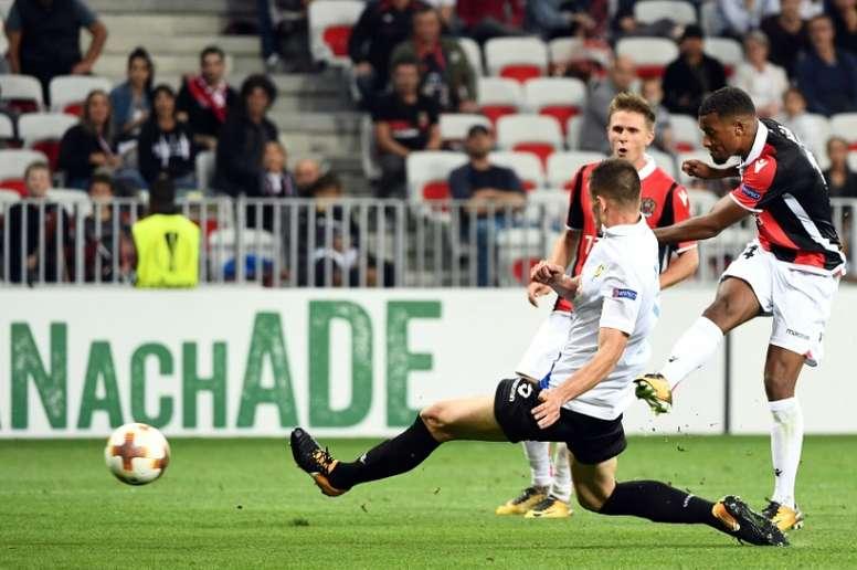 Bom arranque de Europa League para o Nice. AFP
