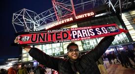 El plan del United para invitar a sus fans al duelo ante el Barça. AFP