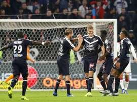 Bordeaux doit se relancer. AFP
