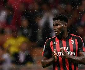 Hellas Verona called the monkey chants towards Kessie an ovation. AFP