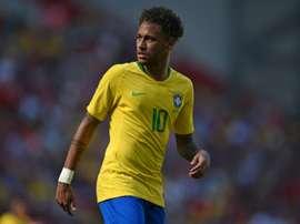 Nueva exhibición de Neymar. AFP