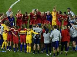 Les Américaines encore en finale. AFP