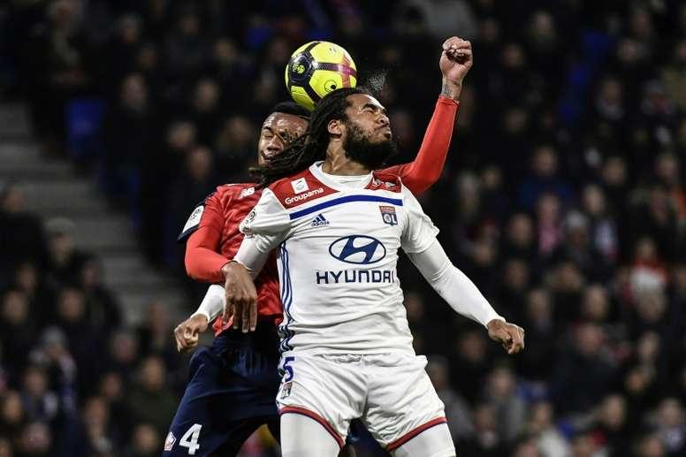 Les compos probables du match de Ligue 1 entre Lyon et Lille. AFP