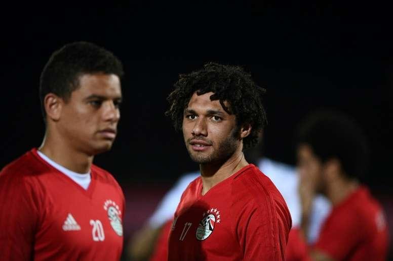 Elneny jugará en Turquía, según 'Sky Sports'. AFP