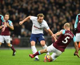 Pablo Zabaleta says West Ham will take confidence from Everton win. AFP