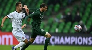 El Krasnodar se impuso por 5-0. AFP