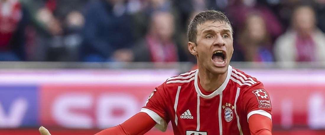 Bayern desiludiu na sexta ronda da Bundesliga. AFP