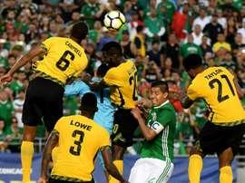 La Jamaïque a battu le Mexique. AFP