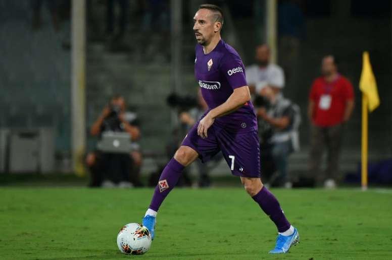 Italie: Ribéry va être opéré d'une cheville. AFP