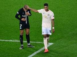 Marcus Rashford deverá ser o próximo a renovar contrato com o Manchester United. AFP