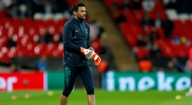 Hugo Lloris came under heavy criticism after his performance against Barcelona. AFP