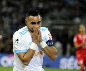 Olympique de Marseille e Montpellier empatam a zero. AFP