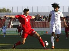La sélection irakienne a gagné 3-0. AFP