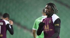 Everton demande 35 millions pour Moise Kean. AFP