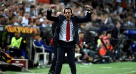 El Arsenal respaldó a Emery. AFP