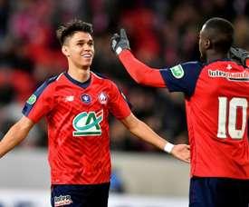 Les compos probables du match de Ligue 1 entre Caen et Lille. AFP