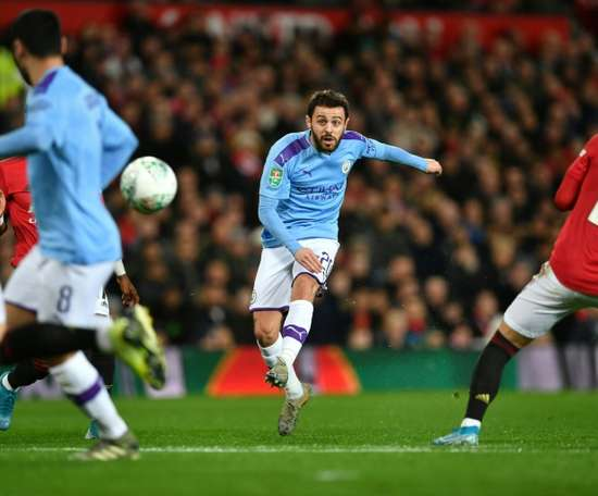Bernardo Silva n'enterre pas le Real Madrid. AFP