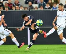 Bordeaux freiné par une équipe de Dijon méritante. AFP