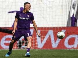 Sem Ribéry, a Fiorentina não é a mesma. AFP