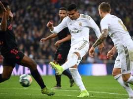 Casemiro will sign a new deal at the end of the season. AFP