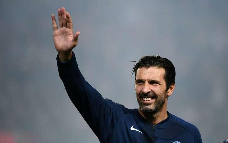 El top 5 del portero Gianluigi Buffon . AFP
