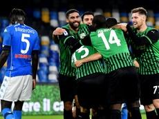 Sassuolo, le tube de l'automne en Serie A. afp