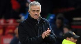 Mourinho has a good record against Man City. AFP