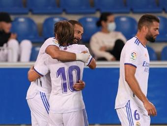Benzema quiere el 'Pichichi'. AFP