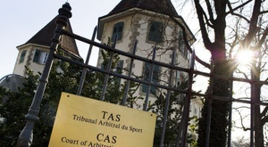 Photo du siège du Tribunal arbitral du sport à Lausanne, prise le 6 février 2012. AFP