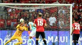 Manchester United enchaîne contre l'Inter en amical. AFP