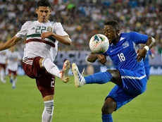 La Martinique, éliminée de la Gold Cup. AFP