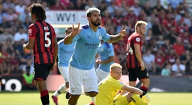 Sem se despentear o City vence o Bournemouth. AFP