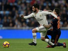 Real Isco Madrid. AFP