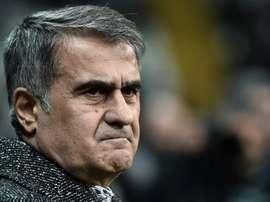 Senol Günes sélectionneur de l'équipe nationale. AFP