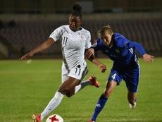 Kadidiatou Diani et Solène Durand forfait contre la Serbie. AFP