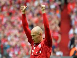 Robben looks back over Bayern and Madrid years. AFP