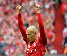 Robben dice adiós a una carrera de leyenda. AFP