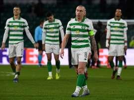 La saison écossaise désormais suspendue jusqu'au 10 juin. AFP