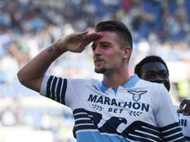 Milinkovic-Savic has been sensational for Lazio for a couple of years now. AFP