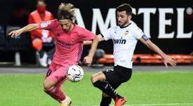 El Barça quiere a Gayà para competir con Jordi Alba. AFP