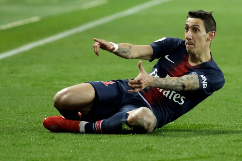 Could Di Maria be heading to Barça? AFP