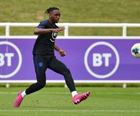Wan-Bissaka finalement forfait pour l'Angleterre. AFP