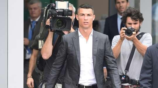Cristiano não vai jogar contra o Real. AFP