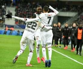 Rennes met fin au rêve de Belfort et file en demie. AFP