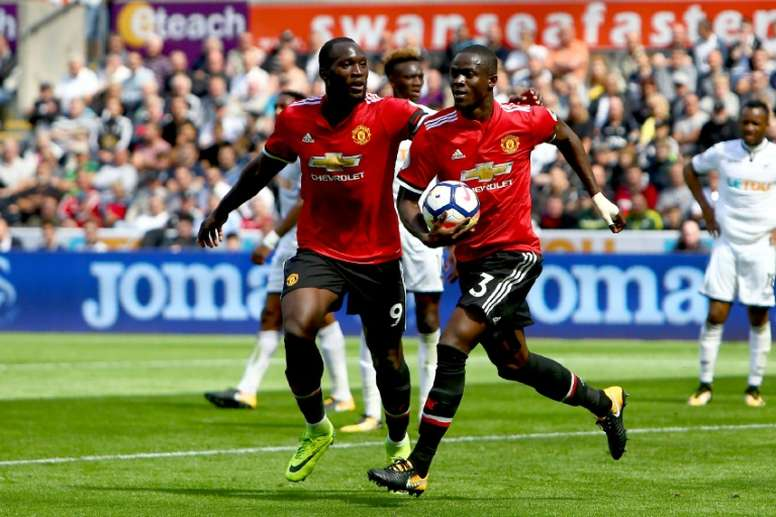 Eric Bailly described this week as being 'one of the hardest of my life'. AFP