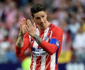 Les Adieux de Torres. AFP