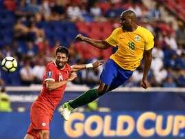 El partido acabó con 0-0, pero la presencia de Malouda castigó a la Guyana. AFP