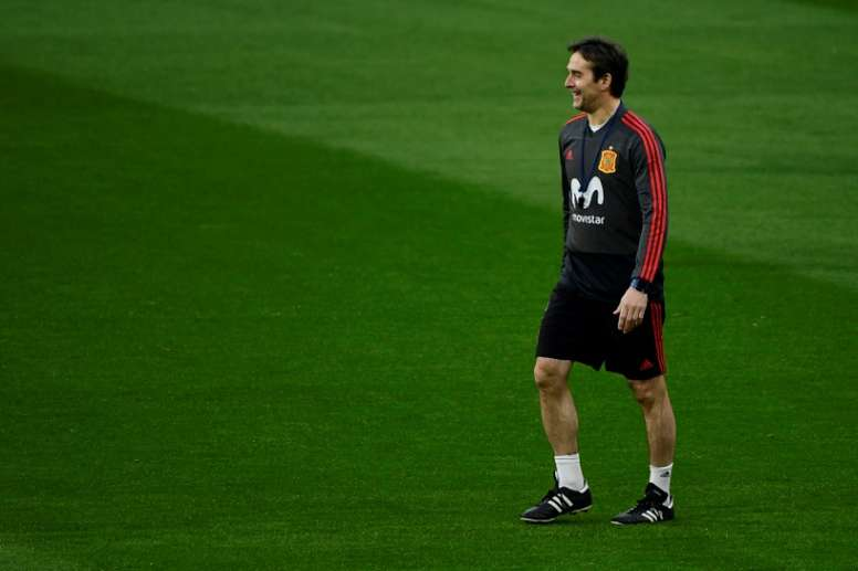 Lopetegui dejará la Selección Española tras el Mundial. AFP