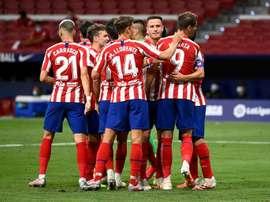 Suivez le direct du match Leipzig-Atlético. AFP